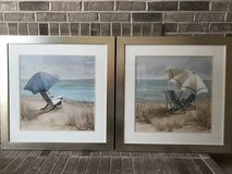 Framed matching pictures in Oswego, Illinois