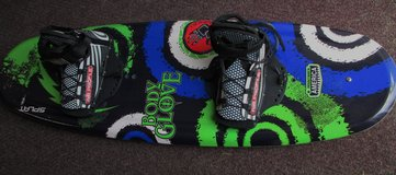 Body Glove Splat Wakeboard with r Bindings For Riders Up to 125 lbs: in Fort Campbell, Kentucky