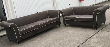 Grey couch set 3&2 seater in Wiesbaden, GE