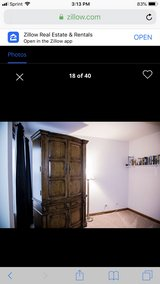 7 1/2 foot tall by 4 ft wide Armoire in Naperville, Illinois