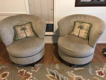 2 Rotating chairs in Beaufort, South Carolina