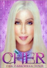 """Cher """"The Farewell Tour"""" Live Concert DVD 3D Cover in Quantico, Virginia"""