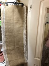 burlap table runners and table cloths in Camp Lejeune, North Carolina