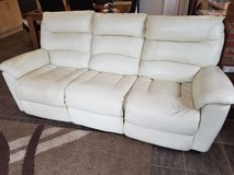 3 seater and 2 seater leather sofa in Lakenheath, UK