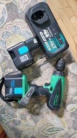 Hitachi Drill with Charger and Two Batteries in Fort Campbell, Kentucky