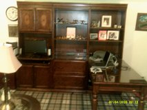 OFFICE DESK L STYLE OAK LIKE NEW 3 SECTION UNIT EA,SECTION 30' WIDE AND 6-FT,-4'IN HIGH in Naperville, Illinois