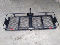 Ultra-Tow Steel Stowable Hitch Cargo Carrier — 500-Lb. Capacity, Black, 60in. x 20in. x 6in. in Kingwood, Texas
