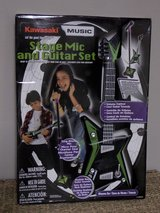 NEW Kawasaki Guitar and Stage Mic Set in Kingwood, Texas