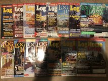 15 Issues of Log Home Living in Batavia, Illinois