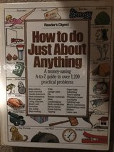 """Reader's Digest """"How To"""" Hardcover Book in Chicago, Illinois"""