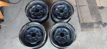 "Suzuki KINGQUAD OEM 12"" wheels front and rear good condition in Alamogordo, New Mexico"