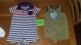 1 baby clothes onesies in Moody AFB, Georgia