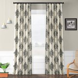 Patterned Blackout Curtains in Naperville, Illinois
