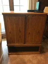 TV cabinet and TV in Kingwood, Texas
