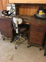 Garage Desk with chair in Kingwood, Texas