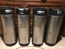 4 5-Gallon Ball Lock Kegs (for home beer brewing) in Wheaton, Illinois