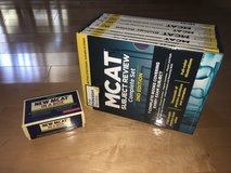 MCAT Complete Set 7 textbooks - The Princeton Review 2nd Edition + Free MCAT Flashcards in Algonquin, Illinois
