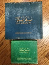 1981 Trivial Pursuit Master Game Genus Edition + All Star Sports Edition Game Cards (vintage) in Oswego, Illinois