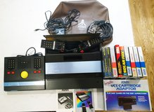Vintage Atari 5200 2-Port Video Game Console w/ Trak-ball, 2 Controllers in Orland Park, Illinois