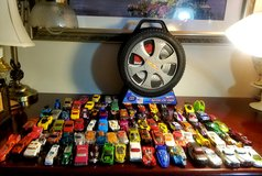 Collection Of Hot Wheels and Hot Wheels Spinner Car Case in Naperville, Illinois