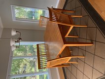 Table, 6 chairs, and 2 benches in Algonquin, Illinois