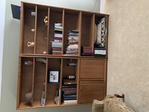 2 wood shelves units in Naperville, Illinois