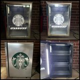 Starbucks Branded LED Mini Fridge in Kingwood, Texas