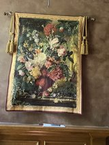 5' x 4' floral wall tapestry in The Woodlands, Texas