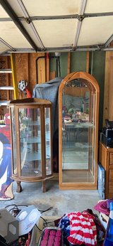 Tall Curio Cabinet in Naperville, Illinois
