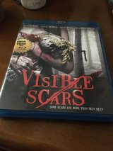 Visible scars blue ray in Ramstein, Germany