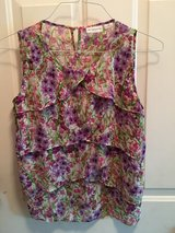 Liz Claiborne flower tank top in Plainfield, Illinois