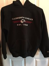 Ellsworth Eagles hooded sweatshirt in Plainfield, Illinois