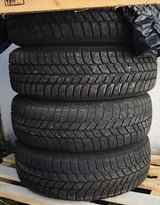 Winter tires with steel rims 175/65 R14 (82T) for Renault Clio in Stuttgart, GE