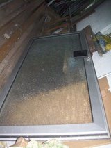 Entrance-Safteyglasdoor with frame-- from Modification in Ramstein, Germany