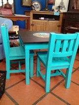 Childs Chalkboard Nauticle Table with 2 Chairs #2500-3 in Camp Lejeune, North Carolina
