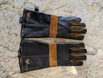 New Heat Resistant Leather gloves for BBQ or fireplace in Kingwood, Texas