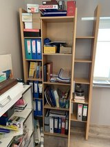 Book shelf and cabinet in Spangdahlem, Germany