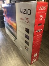 "VIZIO 75"" LED 4K ULTRA / SMART W/WARRANTY in Camp Pendleton, California"