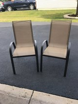 Patio chairs in Plainfield, Illinois