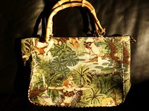 Handbag Bag Purse Tote Coach ForNine Tiki Jungle 50s 60s in Wiesbaden, GE