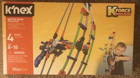 K'NEX Battle Bow K Force Build and Blast in Fort Campbell, Kentucky