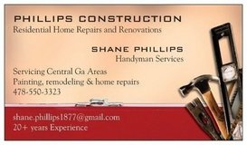 Handyman Services in Warner Robins, Georgia
