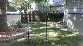 Antique  Standing  Candelabra Goth Gothic Revival Set of 2 $125.00 Both-Can Send Pics in Plainfield, Illinois