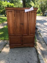 Free television cabinet in Plainfield, Illinois