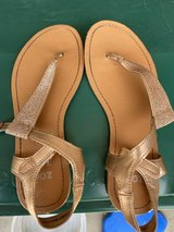 Girls Rose Gold Sandals in Aurora, Illinois