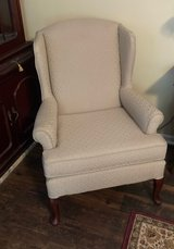 Cream colored Colonial Living Room Chair Great Condition! in Beaufort, South Carolina