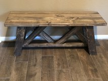 Farm house bench new in Tomball, Texas