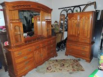 Bedroom Furniture Dresser with Mirror & Armoire in Morris, Illinois