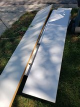 Curb alert  white shelving up to 5 or 6 feet long in Plainfield, Illinois