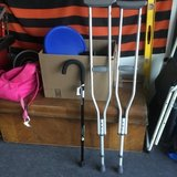 Crutches and walking cane new in Travis AFB, California